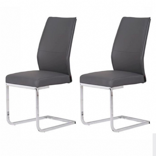 Home Essential  AES  Chairs Blue (Pair) Grey